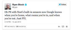 google-nest-tweet